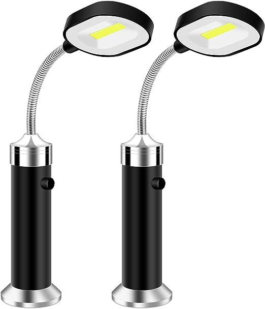 Vegena Luz de Parrilla Magnética, Parrilla LED Luces con Base ...