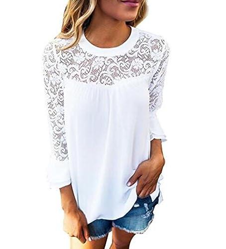 Ibelive - Camisas - Túnica - Paisley - Cuello redondo - para mujer