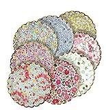Meri Meri Assorted Libery Plates, Set of 8 Plates (Small)