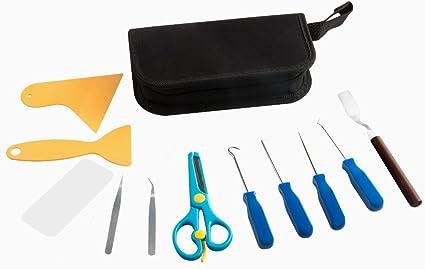 Ideal HTV Siser Comfort Grip Stainless Steel Craft Vinyl and Paper Weeding Tool