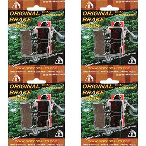 - 4 Pairs Shimano XT BRM-755 XTR Saint LX Grimeca 8 SRAM M755 Disc Brake Pads Bike