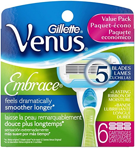 Gillette Venus Embrace Refill Cartridges - 6 ct