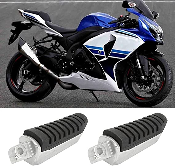 Motorcycle Rear Footrests Foot Pegs For Suzuki GSF650 Bandit 650 //GSX1300 BK1300