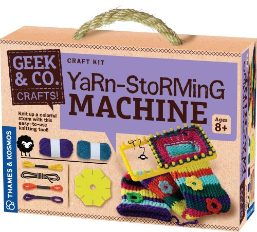 Geek & Co. Craft Yarn-Storming Machine