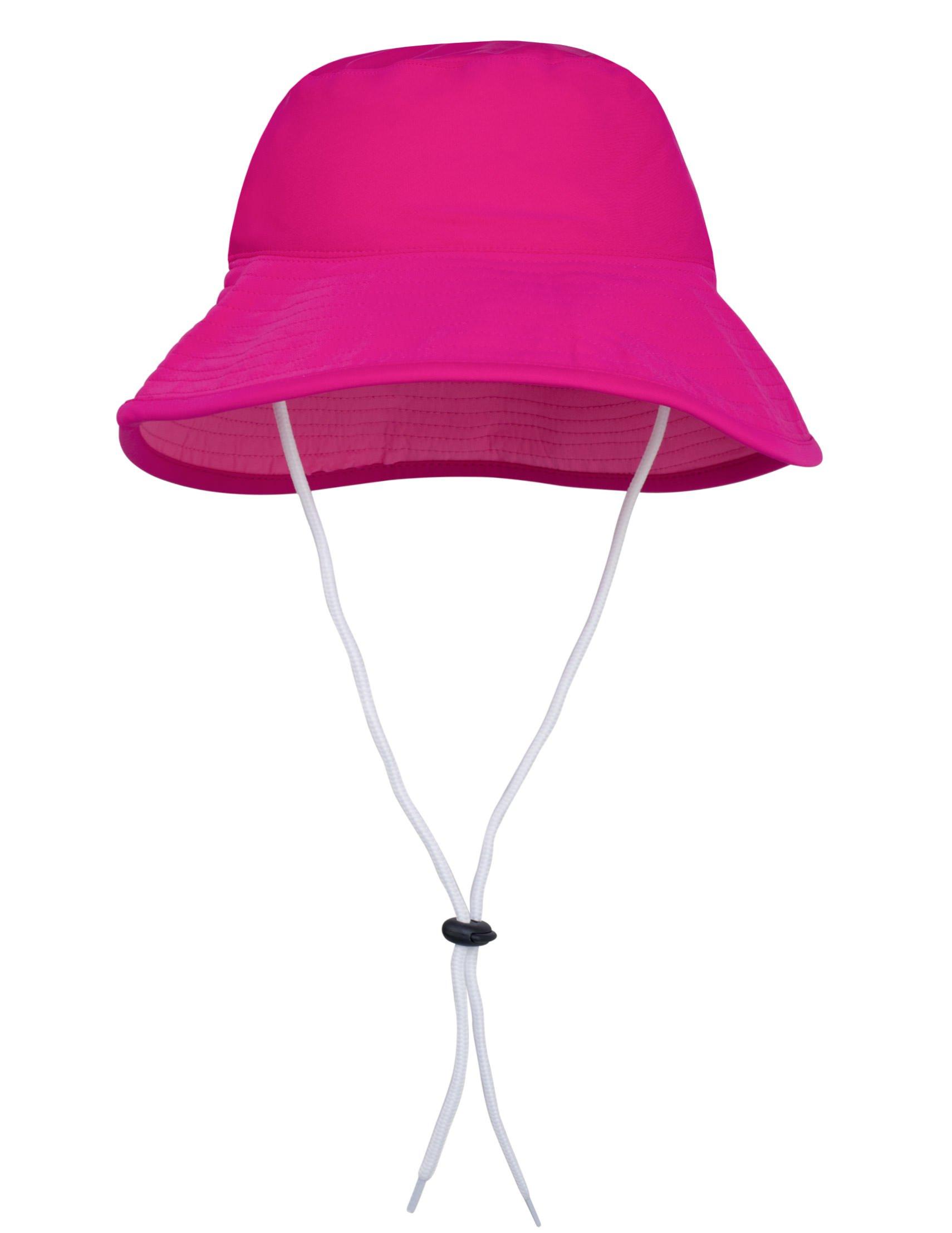 Tuga Girls Bucket Hat (UPF 50+), Carmine, Large