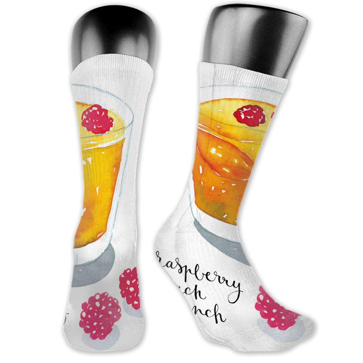 OLGCZM Cartoon Cocktails Men Womens Thin High Ankle Casual Socks Fit Outdoor Hiking Trail