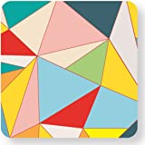 WTF GEO-04 - Etiqueta engomada con logos, diseño Geometría