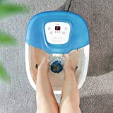 Foot Spa Bath Massager with Heat Bubbles