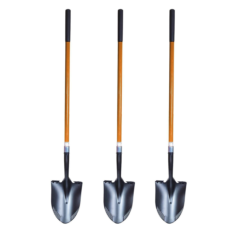 Amerikanische Form Schaufel und Spaten in einem 3 St FRONTTOOL Spatenschaufel 2in1 SET die perfekte Kombination von 2 Werkzeugen