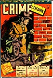 Crime Casebook #8 1950's-Australian crime comic-Tommy Gun-violent crime-VG