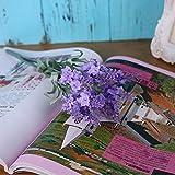 CLG-FLY®Artificial flowers Lavender Flower Room Living Room Decorative Plastic Flowers Artificial Flowers,Lilac Colour#309