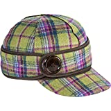 Stormy Kromer Womens Button Up Aurora Plaid Hat - 6 1/2