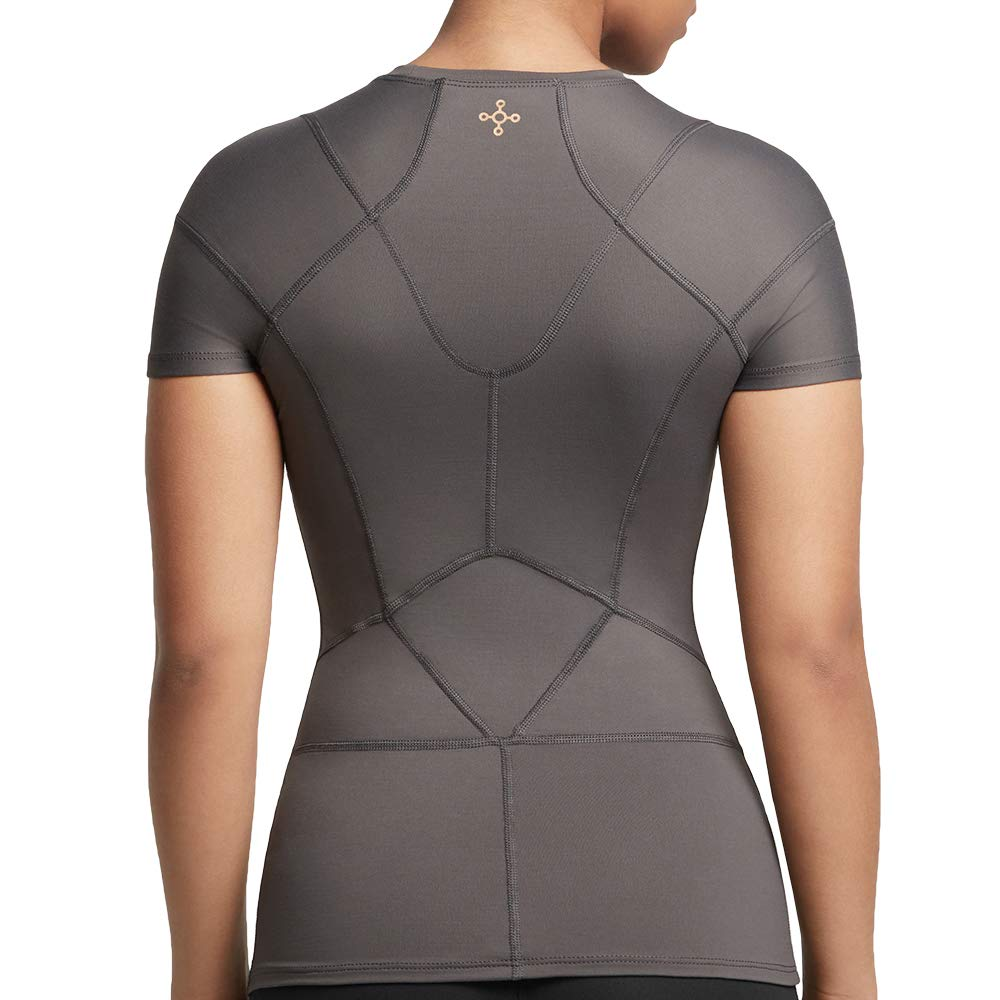 Tommie Copper Women's Pro-Grade Shoulder Centric Support Shirt, Slate Grey, Medium by Tommie Copper (Image #3)