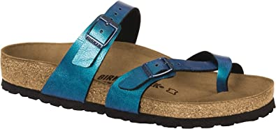 d89c465fc39 Image Unavailable. Image not available for. Color  Birkenstock New Women s  Mayari Sandal Graceful Gem Blue ...