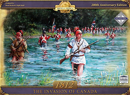 Academy Games 1812: The Invasion of Canada (Rebellion Board Game 1775)