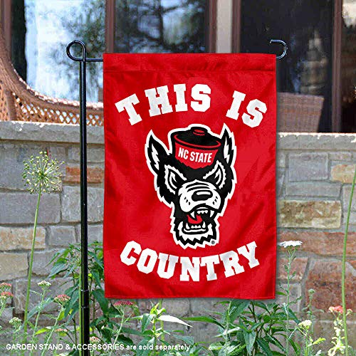 College Flags and Banners Co. North Carolina State Wolfpack This is NC State Country Garden Flag