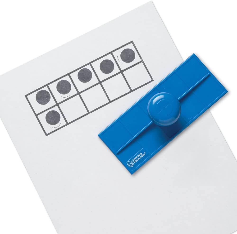 Learning Resources Zehnerrahmen-Stempel