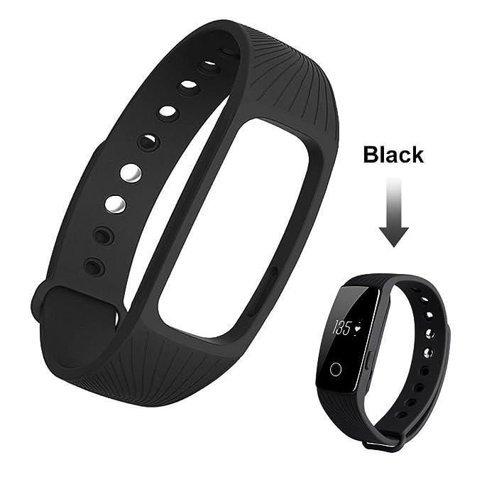 gobuy® id107 Bluetooth 4.0 Smart pulsera Monitor de ...