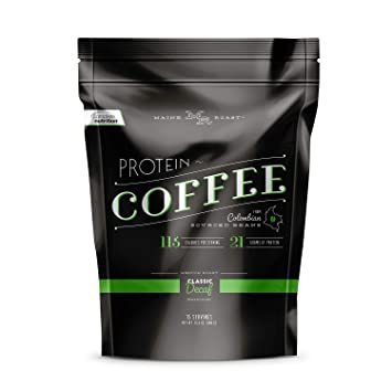 Complete Nutrition Maine Roast Protein Coffee, Classic Decaf, Whey Protein Powder and Colombian Coffee