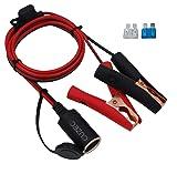 CUZEC 12V/ 24V Extension Cord Plug Socket with