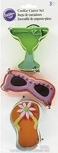 Wilton 3-Piece Summer Cookie Cutter Set