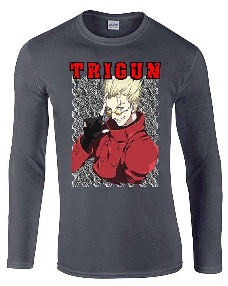 Burai Outlet Trigun Anime Unisex Long Sleeve Shirt