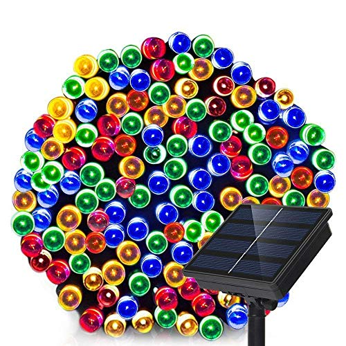 Solar Panel Christmas Lights Outdoor in US - 7