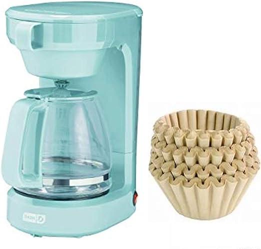 Dash Cafetera eléctrica 12 tazas y filtros de café natural sin ...