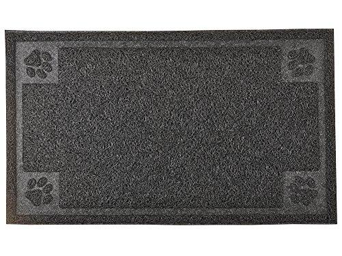 DM Cat Pet Litter Box Mat,Kitty Litter Rug,Rectangle Shape,11.75×20 Inches