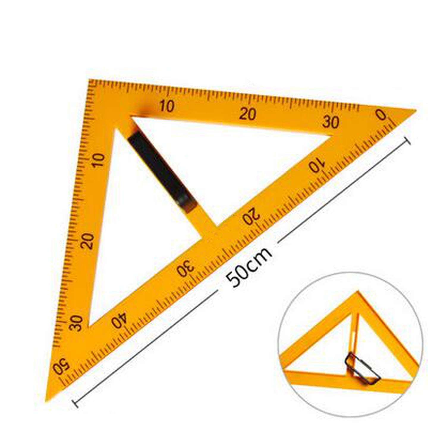 The Drawing and Making Tool for The Plastic Teacher is A Set of Three Dimensional Measuring Tools,Yellow by Yeaha drafting-tool-sets