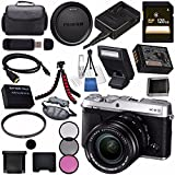 Fujifilm X-E3 XE3 Mirrorless Digital Camera 18-55mm Lens (Silver) 16558669 + NP-W126 Lithium Ion Battery + 58mm UV Filter + 58mm 3 Piece Filter Kit + 128GB SDXC Card Bundle Review