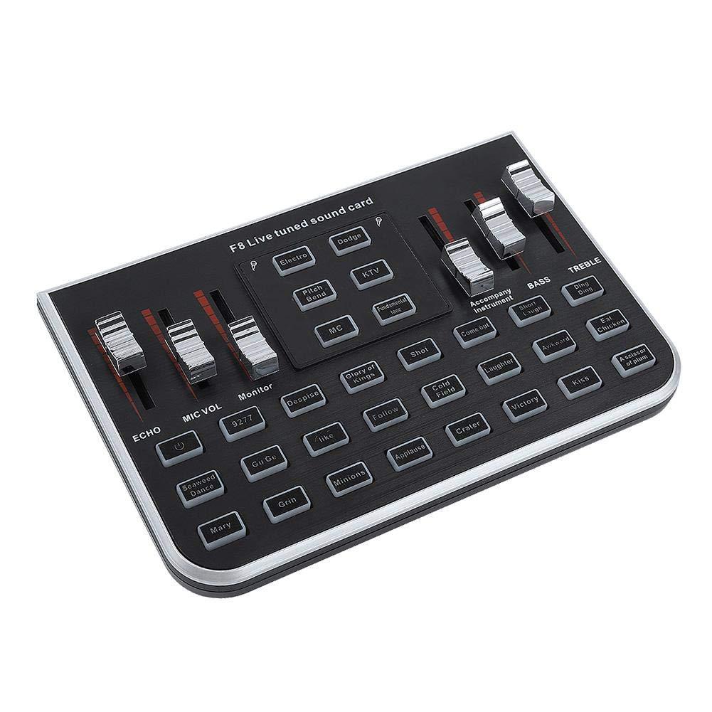 ASHATA External Mixing Console Sound Card Mixing: Amazon co