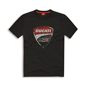 Ducati T Shirt Dc Sketch Black 98769503 Amazon Co Uk Car Motorbike