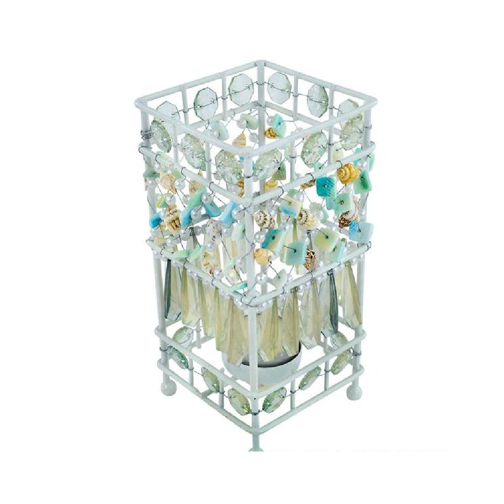 Beaded Seashell Candle Holder by Bargain World