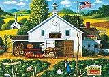 Buffalo Games - Charles Wysocki - Catchin' Bugs - 300 Large Piece Jigsaw Puzzle