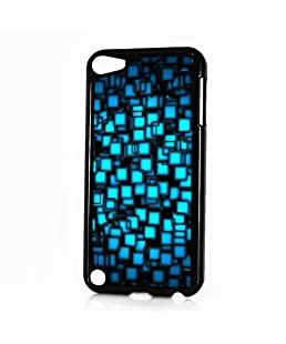 ( For iPod 5 iTouch 5 ) Phone Case Back Cover - HOT10295 Blue Abstract