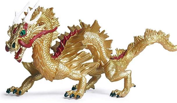 DIYARTS Juguete del Dragón Chino Modelo de Animal de Simulación de ...