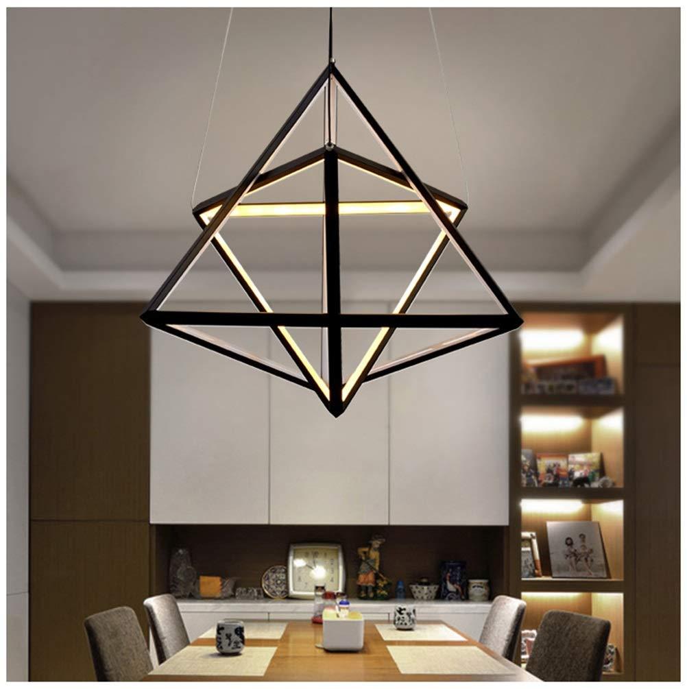 雪丽的家居 Ledペンダントライト現代のシンプルなシャンデリア新しいレストラン天井照明用リビングルームの寝室の装飾フィクスチャ   B07TXTNVN8