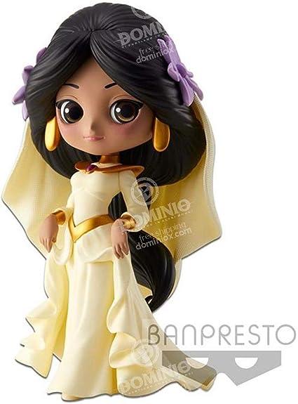 BANDAI Disney Q Posket Jasmine, Multicolor (Banpresto BANP82644): Amazon.es: Juguetes y juegos
