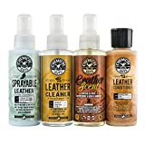 4 way leather conditioner - Chemical Guys HO_L117 Leather Lovers Sample Kit (4 Items)