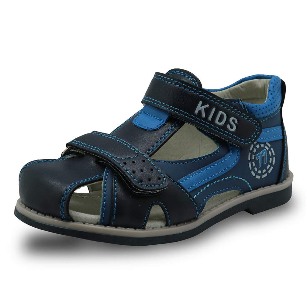 New Kids Summer Shoes Closed Toe Toddler Boys Sandals