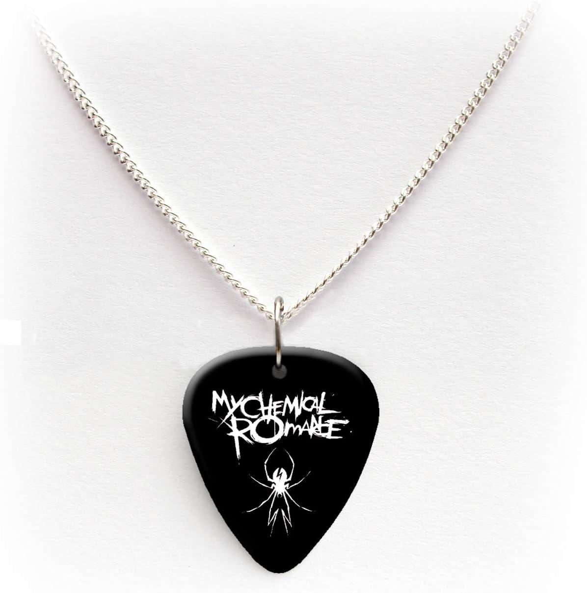 My Chemical Romance Guitar pick plectrum logo Necklace 24BW