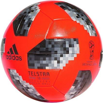 adidas World Cup Praia Balón de fútbol, Red/Black/silvmt, 5 ...