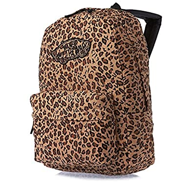 9e1ae41be51 Vans G Realm Leopard Print Backpack Rucksack Mocha Pisque  Amazon.co.uk   Shoes   Bags