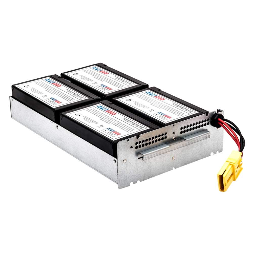 APCRBC133 Compatible Replacement Battery Pack for APC Smart-UPS 1500VA LCD RM 2U 120V SMT1500RMUS by UPSBatteryCenter/®