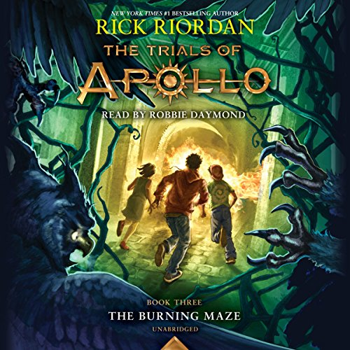 The Burning Maze: The Trials of Apollo, Book 3 cover