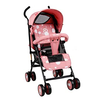 YXINY Carritos y sillas de paseo Carro Para Niños Ligero Paraguas Paraguas Portátil Cochecitos De Bebé ...