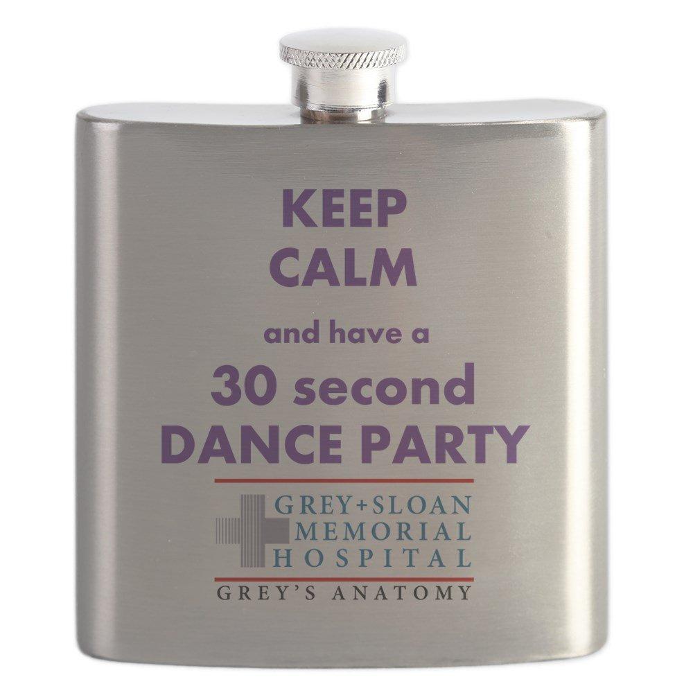 早い者勝ち CafePress Anatomy – – Keep Calmダンスパーティー Keep – Greys Anatomy (グレーSloan ) – ステンレススチールフラスコ、6オンスDrinkingフラスコ B0742CV1DB, サガミコマチ:b2dd666a --- a0267596.xsph.ru