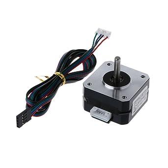 JENOR VTitan - Motor paso a paso para impresora 3D Nema 17 22 mm ...