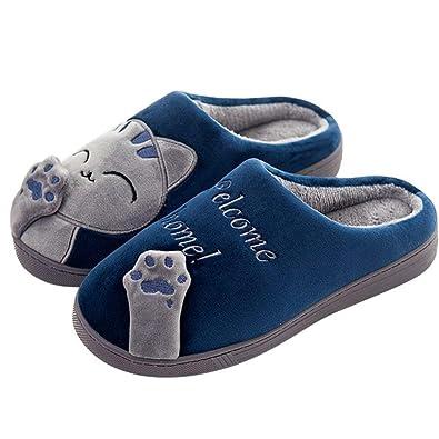 Panda Zapatillas de Estar por Casa Mujer Invierno Zapatos: Amazon.es: Zapatos y complementos